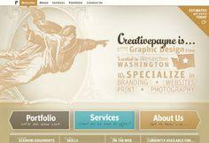 Golden Wonder Using Gold Colour To Design Websites With Images Web Design Inspiration Web Design