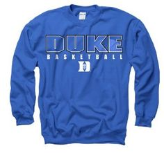 Duke Blue Devils New Agenda Disguise Basketball Crewneck Sweatshirt by New Agenda. $25.00. 80% Cotton / 20% Polyester. Screen Printed. Officially Licensed. Cheer on the Blue Devils in this great-looking sweatshirt from New Agenda!
