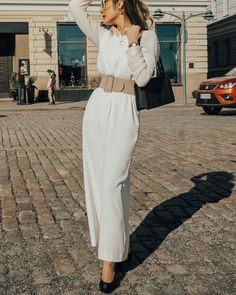 ShopStyle Look by thisiscincity featuring By Terry Shine expert lipstick and Valentino Rockstud Gradient Sunglasses Valentino Sunglasses, Coffee Cream, Instagram Outfits, White Jumpsuit, Valentino Rockstud, Italian Fashion, Latest Trends, Fashion Looks, Photo And Video