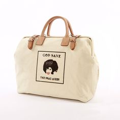 Perfect for stashing your makeup brushes, padding and hairspray...   Drag Queen Mason Bag Natural
