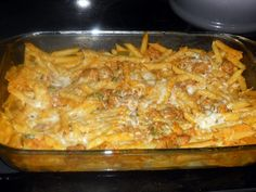 Pumpkin and Sausage Pasta Bake - Hezzi-D's Books and Cooks