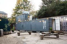 Just Brew It. Two shipping containers is plenty of space for London's 40FT Brewery #LivingCube #SpaceSavingDesign