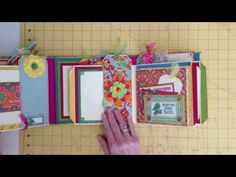 Bohemian Bazaar Gatefold Album with New File Folder Pages - YouTube