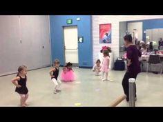 Preschool Ballet Class - YouTube
