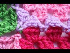 Ristiin rastiin: Isoäidinneliöitten kiinnitys viimeisellä kerroksella Knit Crochet, Crochet Blogs, Knitting, Flowers, Pattern, Youtube, Style, Tricot, Breien