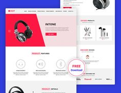 Dot Product Landing Free Page PSD Template is a well-documented PSD template which designed perfectly with clean & unique UI elements that can be easily customized for making powerful product landing pages. The PSD templates are fully editable and customizable. Free Website Templates, Psd Templates, Ui Elements, Landing, Dots, Unique, How To Make, Stitches