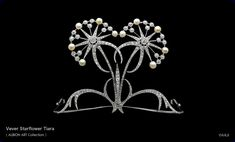 Vever Starflower Tiara, c. 1900, Albion Art Collection