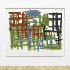 exasperated-viewer-on-air:  Günther Förg- Untitled, 2006acrylic on canvas203 x 253 x 4 cm (79 7/8 x 99 5/8 x 1 5/8 inches) framed