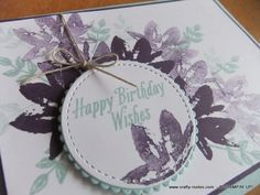 Avant Garden – for Sale-A-Bration by Stampin' Up!