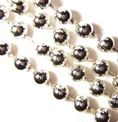 Silver Sweet 16 beads - Sweet 16 Favors #Sweet16 #SilverBeads