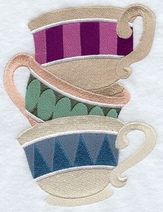 Too Hot To Handle Teacup Stack