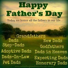 194 Best HAPPY FATHER'S DAY images | Happy fathers day, Happy ...