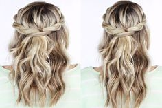 Lazy Hairstyles 10 Easy Braided Hairstyles for A Party Live Better Lifestyle Quick Braided Hairstyles, Easy Little Girl Hairstyles, Fishtail Braid Hairstyles, Easy Everyday Hairstyles, Easy Hairstyles For Medium Hair, Party Hairstyles, Hairstyles Haircuts, Hair Romance, Braids For Black Hair