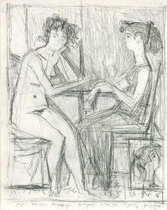 giannis moralis Ecole Art, Artist Sketchbook, Greek Art, Greece, Contemporary Art, Fine Art, Sculpture, Sketchbooks, Drawings