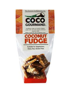 ... coconut fudge with an amazing blend of spices and premium coconut milk