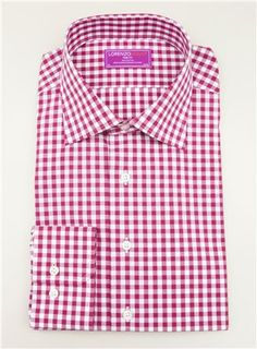 Dress Shirt Gingham Pattern
