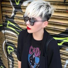 "3,930 Likes, 26 Comments - @shorthair_love on Instagram: ""@princessstiefel #shorthairlove #hair #hairstyle #haircut #pixiecut #shorthair #undercut…"""