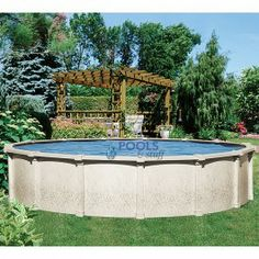 Above ground pool dome for an splash soft side vinyl for Top of the line above ground pools