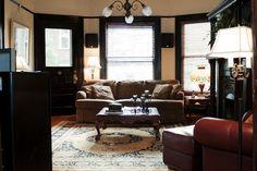 Living Room. Like lights