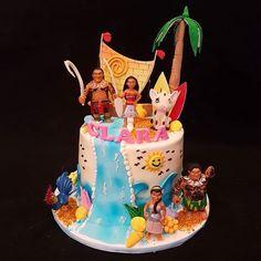 WHAT A BEAUTIFUL MOANA CAKE