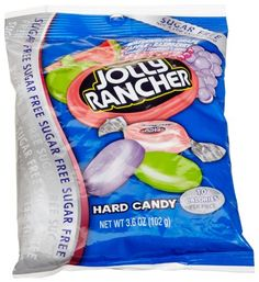 Jolly Rancher Sugar Free Hard Candy, Assorted Flavors MadeInTheUSA.com