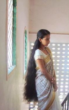 I am soooo jealous of Indian women. How does their hair get so beautiful?