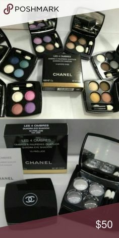 Chanel eyeshadow 2 sets Eyeshadow Makeup Eyeshadow
