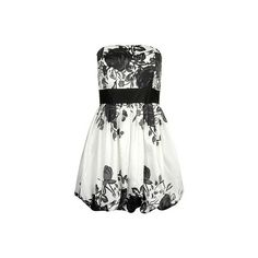 Forever21.com - Dresses - Dressy - 2055109068 ($23) ❤ liked on Polyvore featuring dresses, vestidos, black, white, dressy dresses, black dress, forever 21, black white dress and forever 21 dresses