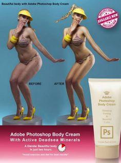 Adobe PhotoShop Body Creme