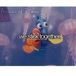 because of disney- Nemo