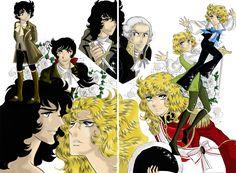 Lady Oscar manga colour