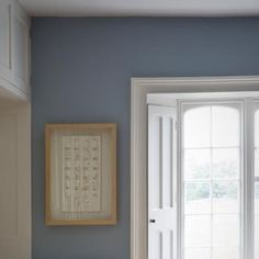 farrow and ball lulworth blue Farrow And Ball Living Room, Farrow And Ball Paint, Blue Bedroom, Kids Bedroom, Bedroom Ideas, Downstairs Cloakroom, Attic Bathroom, Kitchen Wall Colors, Kitchen Paint
