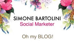 Simone Bartolini — OH my BLOG!    Get the latest lifestyle tips and...