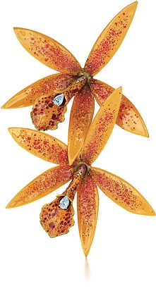 Tiffany & Co. Orchid brooches  Celebrating Spring's Blooming Flowers | Jewels du Jour