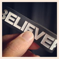 Was cleaning up my room and just found this...BELIEVER http://instagr.am/p/T4JrVBTBUs/