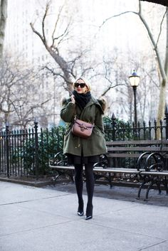 // one // Parka: Boden (also love this one // this one and this one). Pumps. Sunglasses: Celine. Dress: Tibi (old, similar here and here). Lips: Stila 'Beso'. Scarf. Bag: Gucci. // two // Parka:...Read More