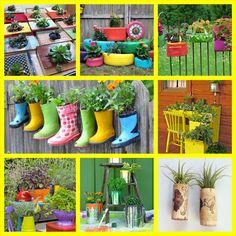 Para você que adora suas plantas e está querendo fazer alguma coisa diferente no seu jardim ou nos vasos...