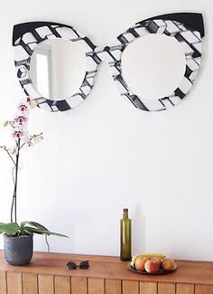 Dieser Doppel-Spiegel ist ein echtes Designerstück