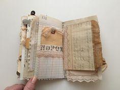 Tsunami Rose Designs: DT Project: Beth Wallen- Vintage Mini Junk Journal using various Ephemera Packs Fabric Journals, Journal Paper, Book Journal, Art Journals, Fabric Books, Journal Covers, Book Crafts, Paper Crafts, Handmade Journals