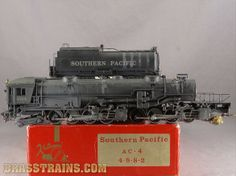 a HO Balboa Katsumi SP Southern Pacific AC-4 4-8-8-2 Cab Forward #4104 Sold for $850.00
