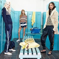 The Latest ZARA TRF Line Focuses on Back to School Fashion #fashion trendhunter.com