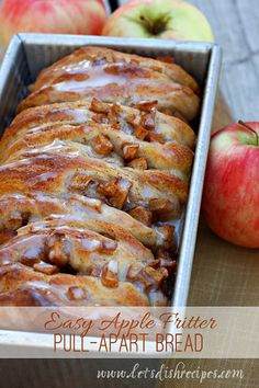 On the weekends, I take turns cooking with my boys, letting them choose the menu and help prepare the meal. This Easy Apple Fritter Pull-Apart Bread was the request of my 14 year-old, who is a big ...