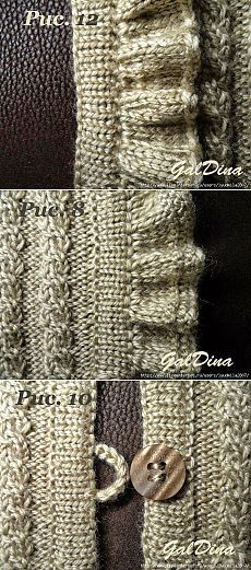 Master Class on Love Galdina. Knitting Stiches, Lace Knitting, Knitting Needles, Knit Crochet, Stitch Patterns, Knitting Patterns, Crochet Patterns, Knit Edge, Knitting Designs