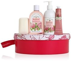 Crabtree & Evelyn Rosewater Hat Box...