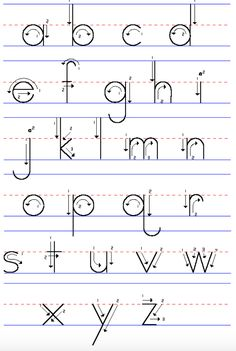 Writing Alphabet Templates Grude Interpretomics Co