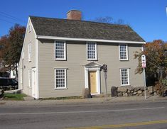The John Adams farmhouse, where John and Abigail raised their children.  John's birthplace is only a few strides away.
