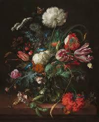Jan Davidsz de Heem, Vase of Flowers, 1645, Baroque