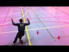 Handball Goalkeeper Training - Step Board Drills - YouTube