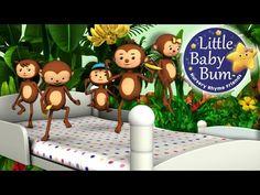 Head Shoulders Knees and Toes   Nursery Rhymes   By LittleBabyBum! - YouTube