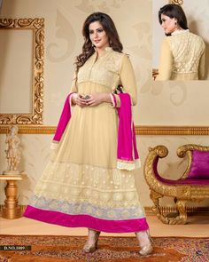 AMNA ANARKALI SUIT - SOLD